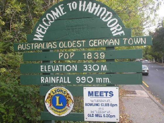 Hahndorf Sth Aust