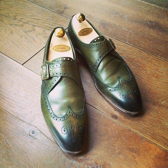"""footgear: """"Edward Green """""""