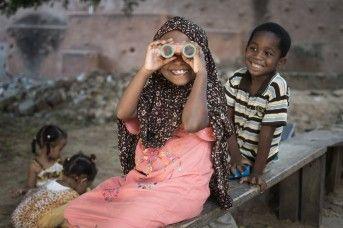 Children in Lamu