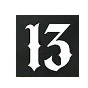 what does 13. 1 sticker mean