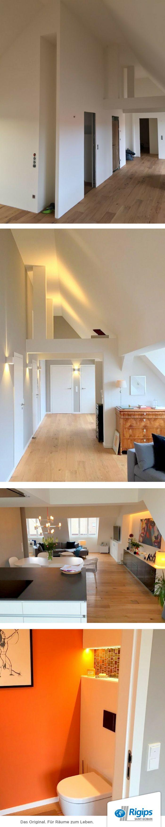 die besten 25 rigips ideen auf pinterest rigips wand tv wand do it yourself und trockenbauwand. Black Bedroom Furniture Sets. Home Design Ideas