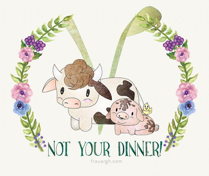 Go Vegan! Illustrator Art, Illustration