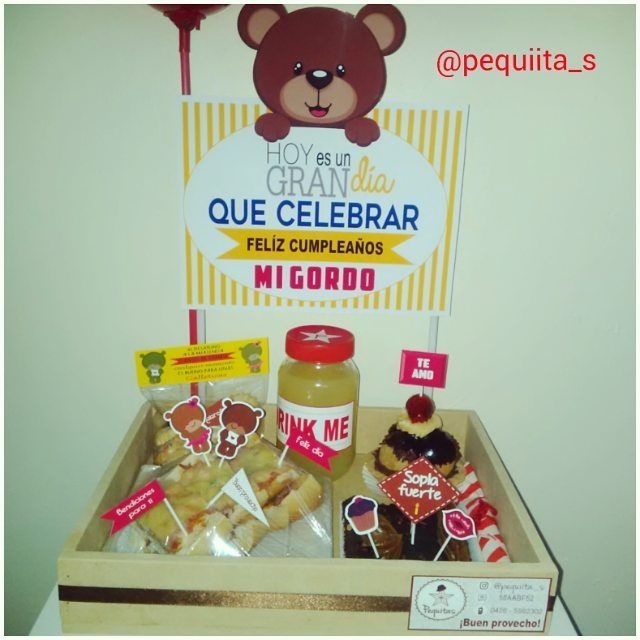 #felizcumpleaños #desayunosorpresa #desayunoartesanal #desayuno #sorpresa #love #amor #pequiita_s