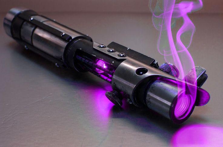 Purple lightsaber