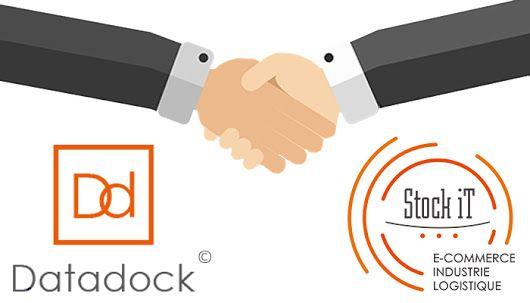 Stock-iT est heureux d'avoir été référencé par Datadock ! #stockit #wms #logicieldegestiondentrepots #formation #datadock