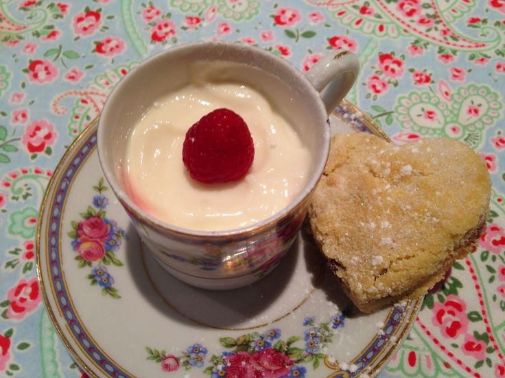 Purely Hopeful Mary Berry S Raspberry And Lime Cream Pots
