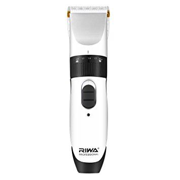 Riwa RE-539C Cordless Rechargeable Hair/Beard Clipper Trimmer with Extra Battery Barber's Cape Review