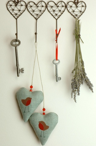 precious and these little hearts are filled with lavender!!