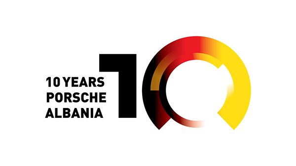 10th Anniversary_Logo on Behance