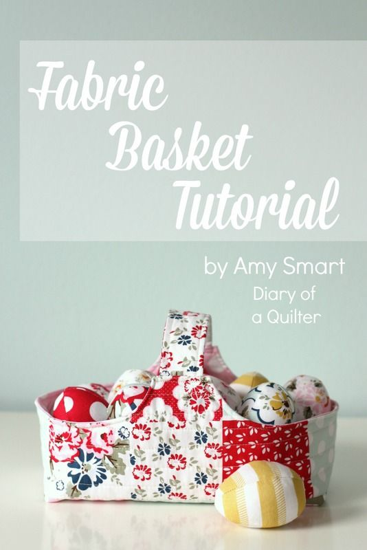Fabric basket & eggs tutorial - links to free patterns