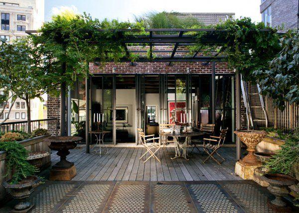 les 25 meilleures id es de la cat gorie terrasse couverte sur pinterest id e d co terrasse. Black Bedroom Furniture Sets. Home Design Ideas