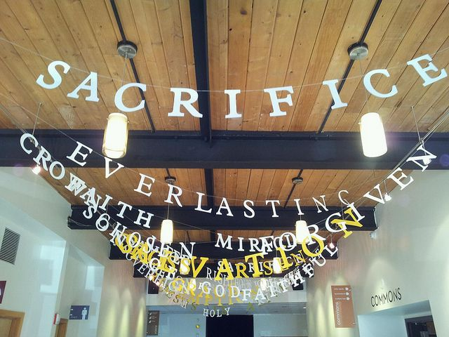 Easter2012_44 by Mars Hill Church, via Flickr // love this idea