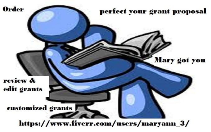 DO NOT SUBMIT GRANT PROPOSALS WITH ERRORS, TYPOS, POOR