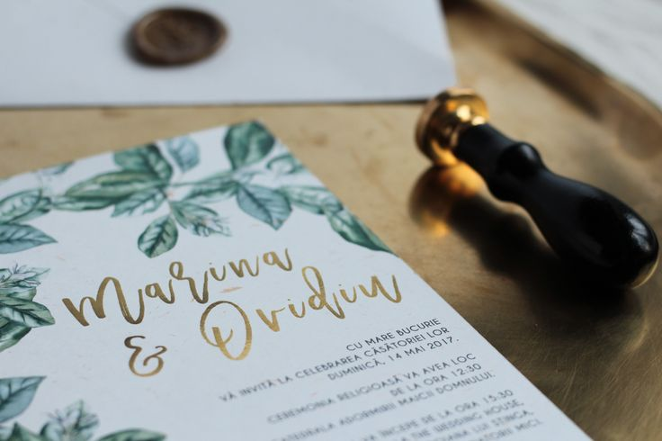 Invitatie Marina+Ovidiu - PAPIRA