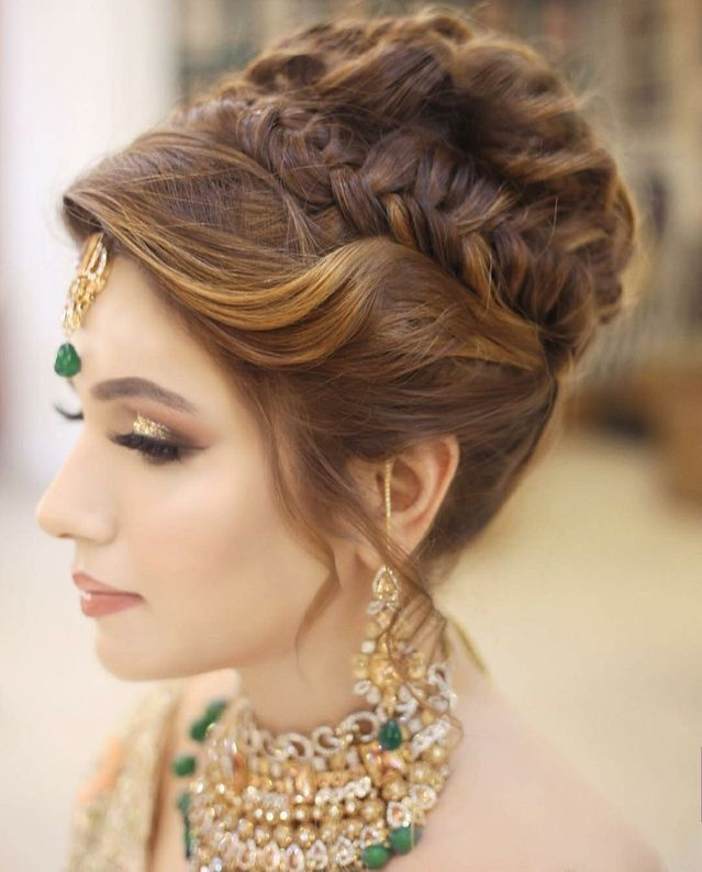 Excellent Indianweddinghairstylesforlonghair Pakistani Bridal Hairstyles Bridal Hair Buns Long Hair Styles