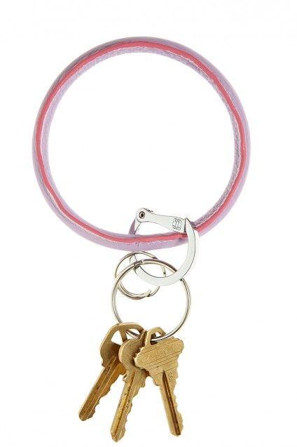 Violet Big O Key Ring
