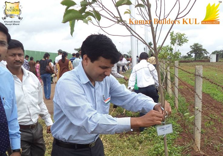 Tree Plantation event at KUL Nation on the occasion of Independence Day.