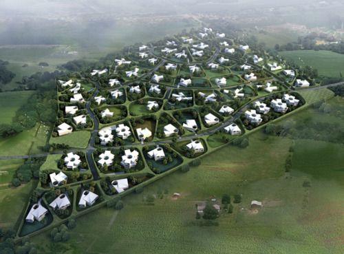 residential urban plan, bratislava, slovakia by SERIE