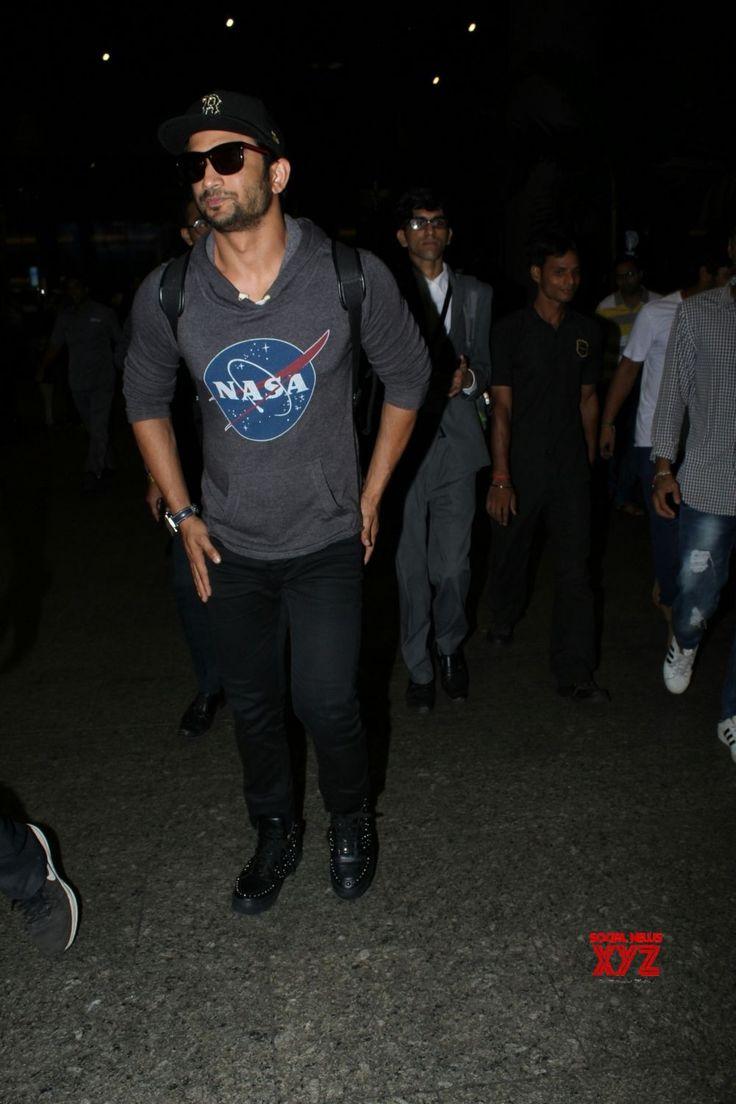 Mumbai: Sushant Singh Rajput spotted at Mumbai Airport - Social News XYZ