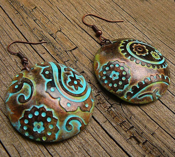 Earrings | Adriana Allen. Polymer Clay