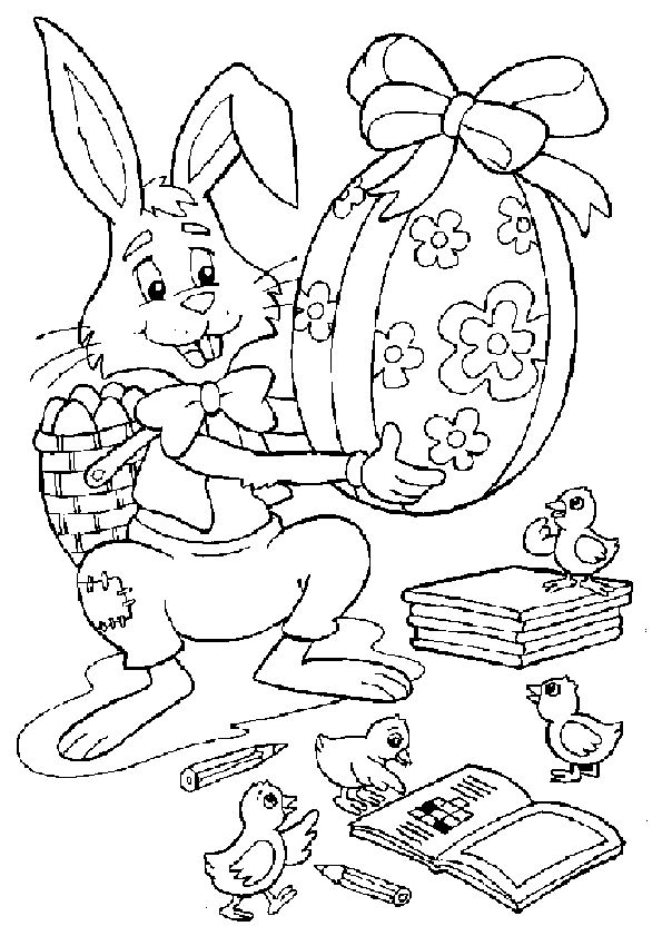 52 besten Easter Coloring Pages For Kids Bilder auf Pinterest ...
