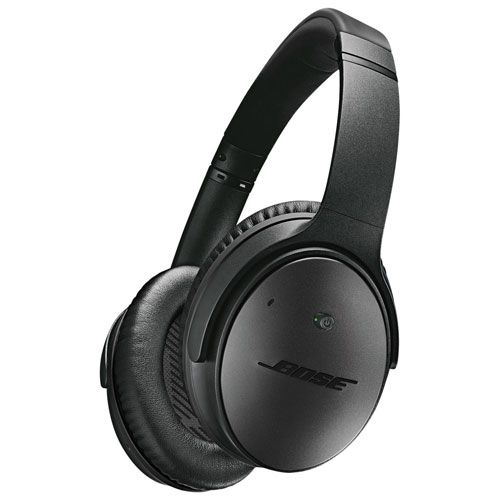 Bose QuietComfort 25 Over-Ear Noise Cancelling Headphones Special Edition (Apple) - Triple Black