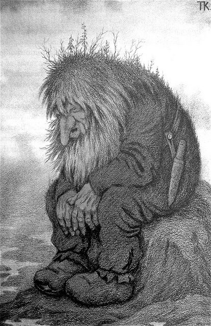 Theodor Kittelsen - The Troll Who Wanders About His Age by Aeron Alfrey, via Flickr