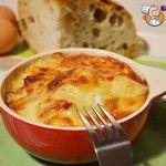 Cocotte di Uova e Pane, secondo piatto