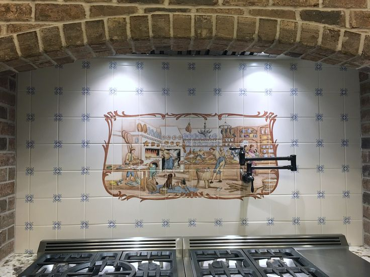 51 best images about hand painted tiles tile murals