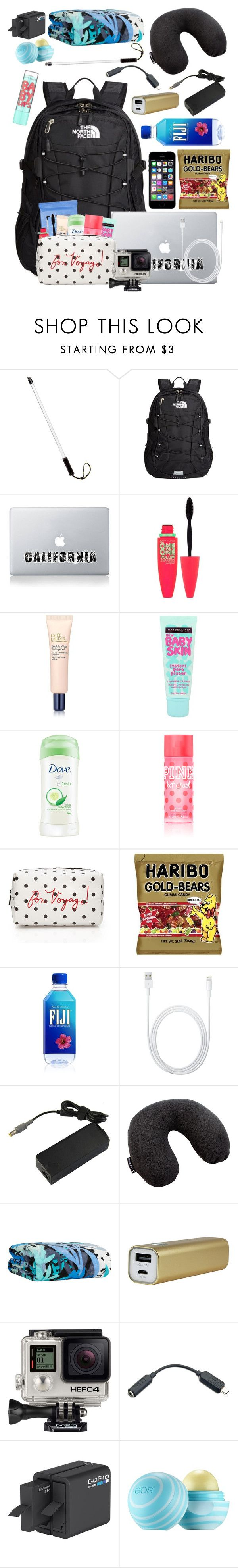 """""""Mexico Mission Trip: Back Pack carry on"""" by dejonggirls ❤ liked on Polyvore featuring interior, interiors, interior design, home, home decor, interior decorating, GoPro, The North Face, Neutrogena and Maybelline"""