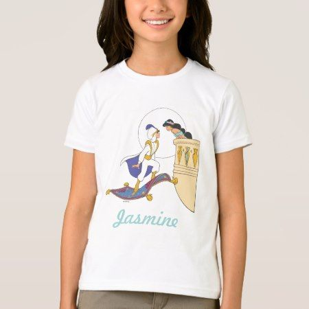 Aladdin and Jasmine T-Shirt - click/tap to personalize and buy