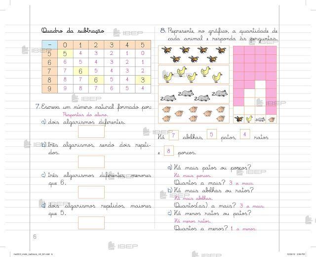 Pin Em Caderno Do Futuro Matematica 3 Ano