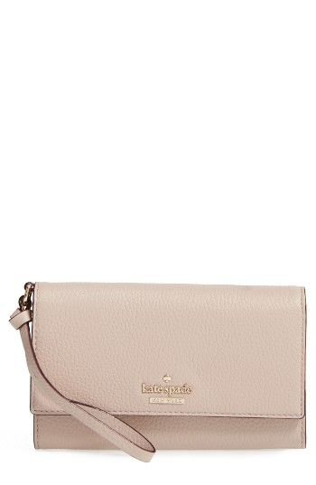 Free shipping and returns on kate spade new york jackson street malorie leather wallet at Nordstrom.com. An accordioned leather wallet with three compartments, lots of pockets and slots and a wrist strap will have you organized and out the door in a New York minute.