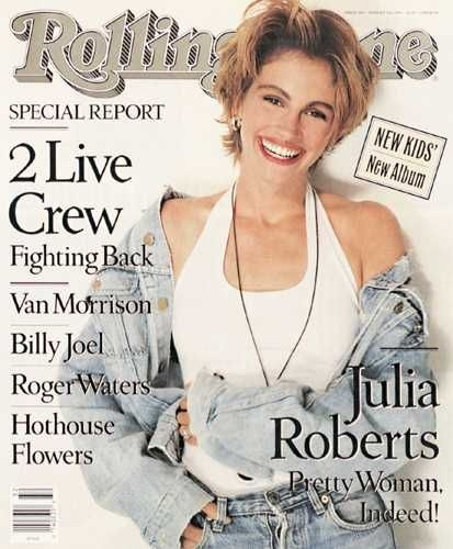 Julia Roberts - Rolling Stone Magazine [United States] (9 August 1990)