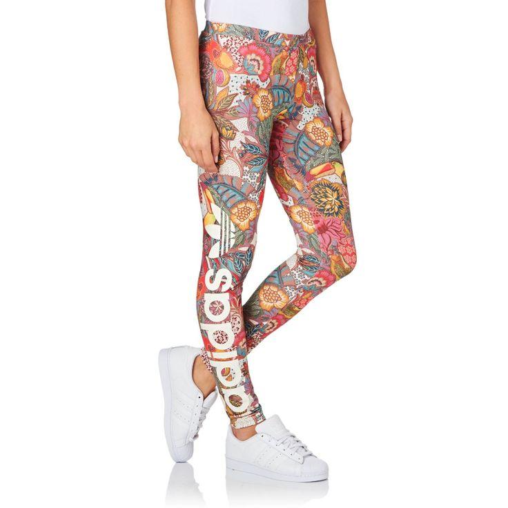 Adidas Originals Fugiprabali Linear Leggings  - Multicolor
