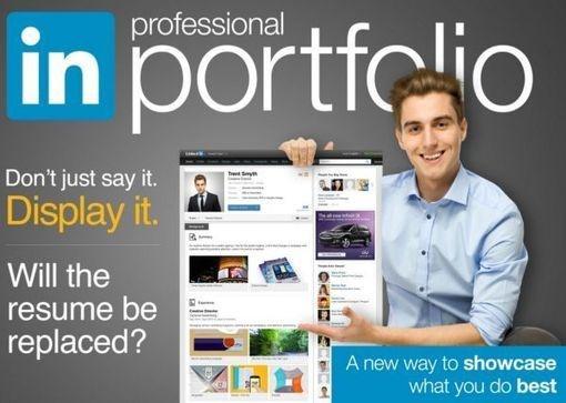 Los perfiles personales de los usuarios de LinkedIn pasan a ser portafolios de trabajos