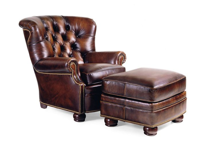 Hancock and Moore Living Room Wallace Tufted Chair 1786 at Custom Home Furniture Galleries at Custom Home Furniture Galleries in Wilmington NC  sc 1 st  Pinterest & 86 best Recliner images on Pinterest | Recliners Leather recliner ... islam-shia.org