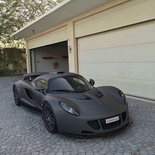 Matte Black Hennessy Venom GT  #luxury #luxurylifestyle #richlifestyle. #rich #wealth #prosperity #cash #cars #passion #dreams #goals. #Get your #6figures #income #secret http://wealthyguru.com