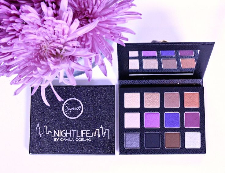 Nightlife by Camila Coelho Collection | Sigma Beauty | Super Vaidosa | Review and Swatches | Nightlife Eye Shadow Palette