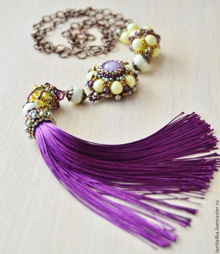 """Купить Комплект """"Экс ан Прованс"""" (Aix-en-Provence) - тёмно-фиолетовый, желто-фиолетовый"""