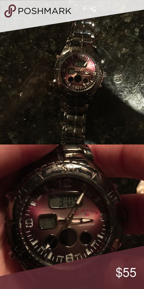 Men's Watch Men's Polo Watch. Great condition, worn ONCE. U.S. Polo Assn. Accessories Watches
