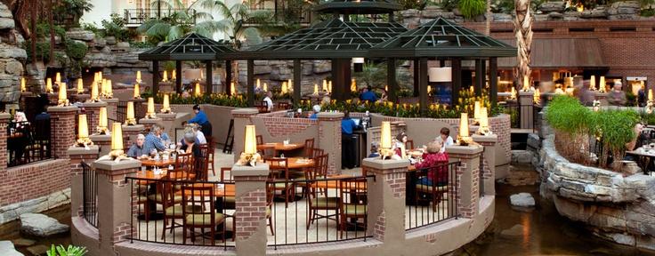 Cascades American Cafe Restaurant Gaylord Opryland