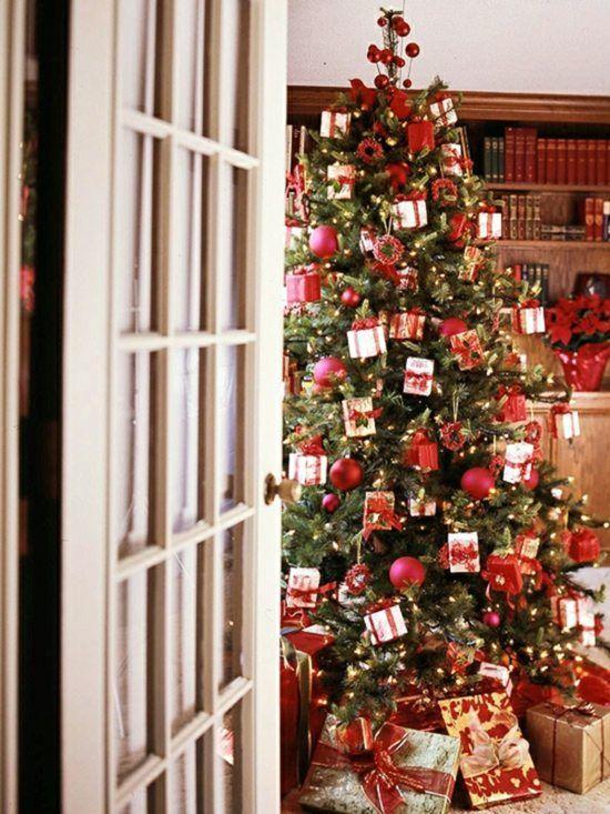 Die besten 25+ Amerikanische weihnachtsdeko Ideen auf Pinterest - wohnzimmer deko rot