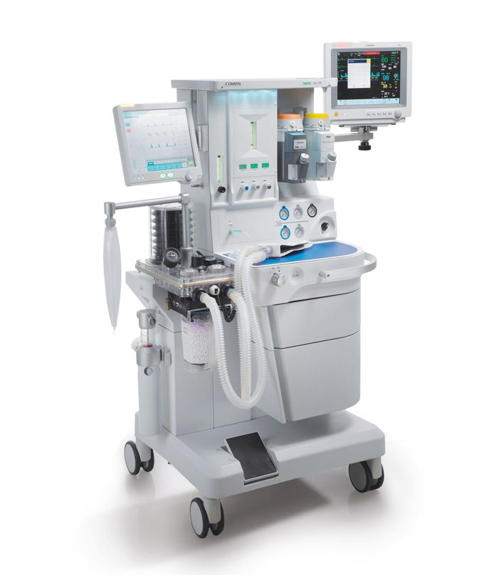 Máquina de anestesia con mezclador electrónico de gases Bilanx AX-700