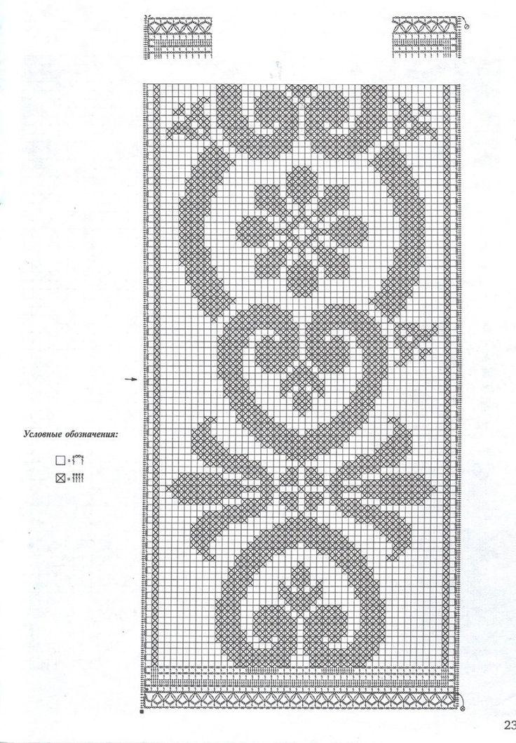 table runner crochet
