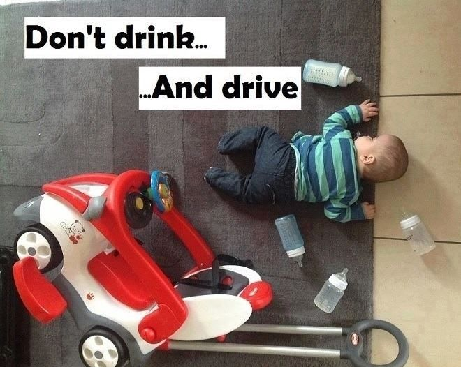 Don't #drink and #drive
