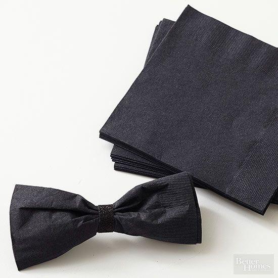 Set the Table: Bow Tie Napkins