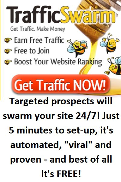 With only a few clicks a day, you can get 100s or even 1000s of visitors to your website for FREE.