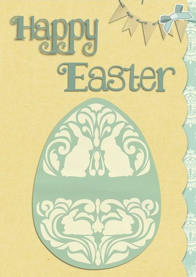 Easter Greeting Card Free Digital Images Vintage, GIF and Clip Art - Artsy Bee Digital Images