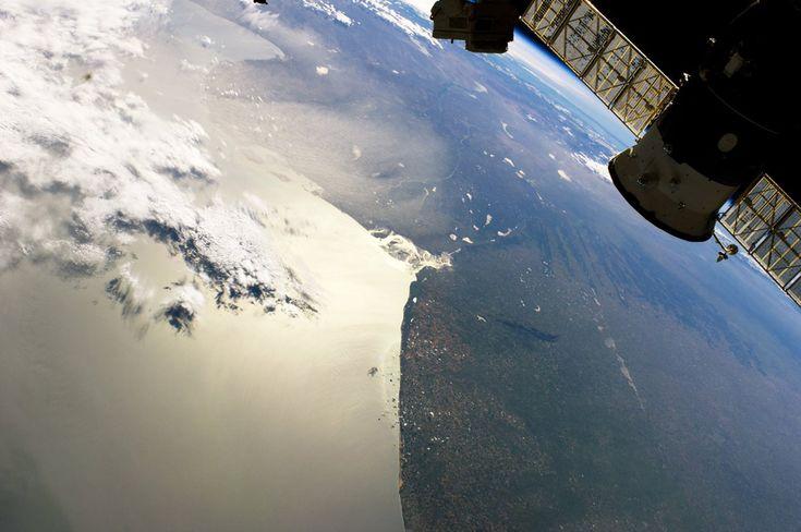 Bahía Blanca - 13 fotos de la Argentina desde la Estación Espacial Internacional -